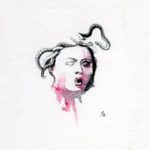 Gorgone 01 - 10cm*10cm - 2012 - 50€